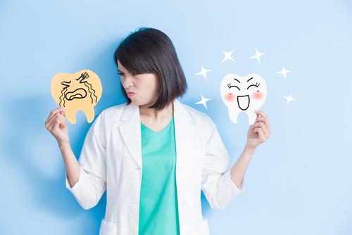 怒る歯科医師